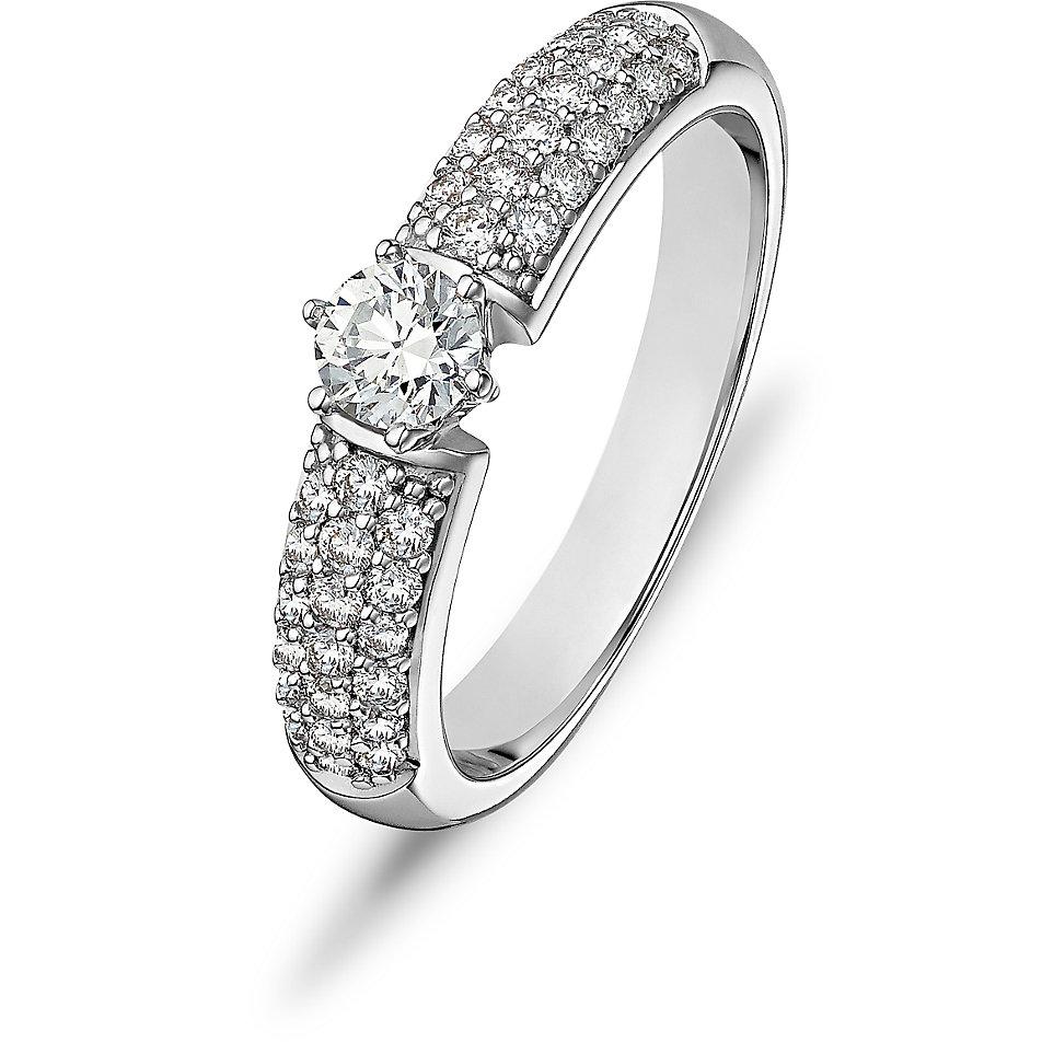 christ-diamonds-damenring-60120536, 1299.00 EUR @ christ-de