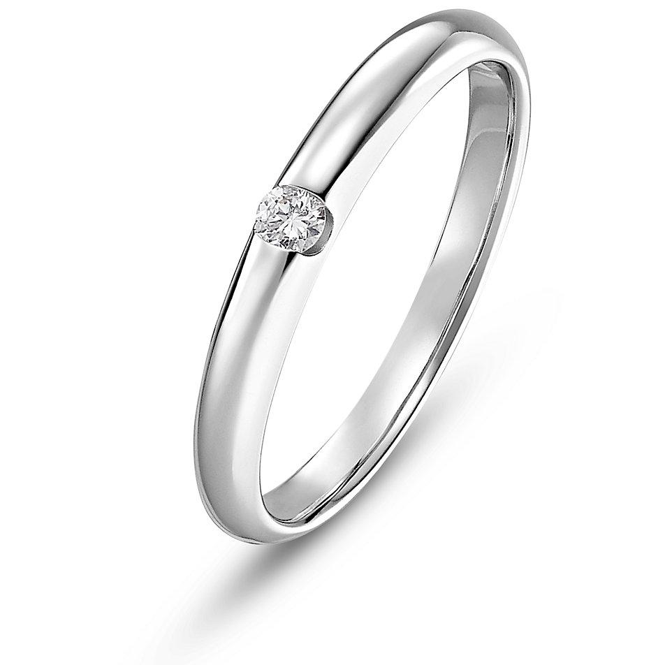 christ diamonds damenring 86783011 bei bestellen. Black Bedroom Furniture Sets. Home Design Ideas