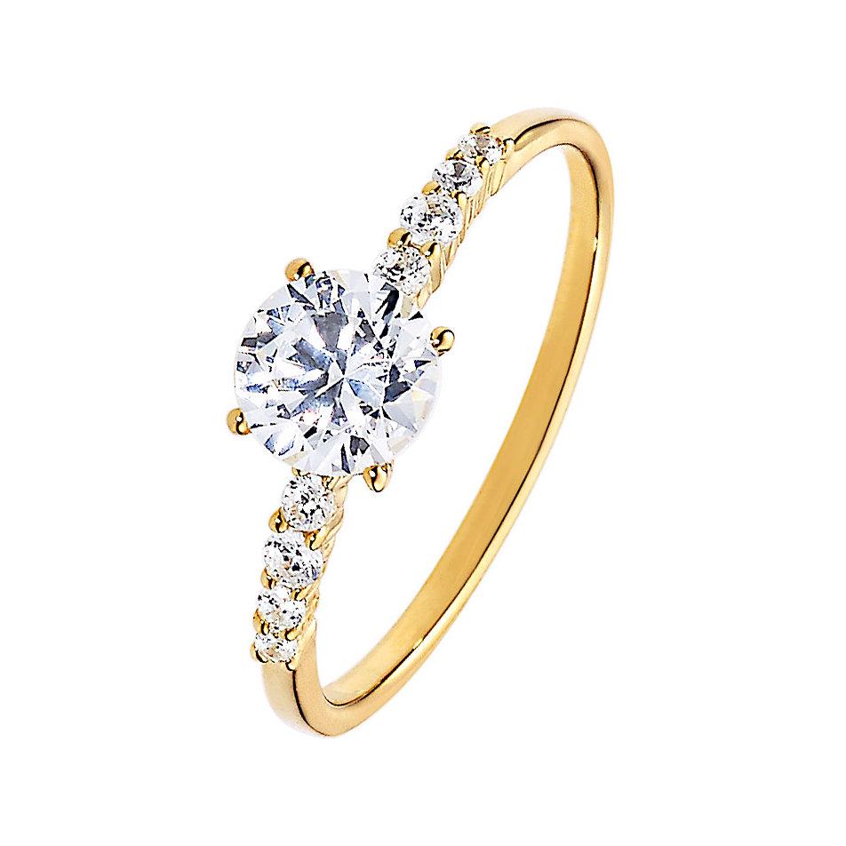 Ring gold  CHRIST Gold Damenring 86979098 bei CHRIST.de bestellen