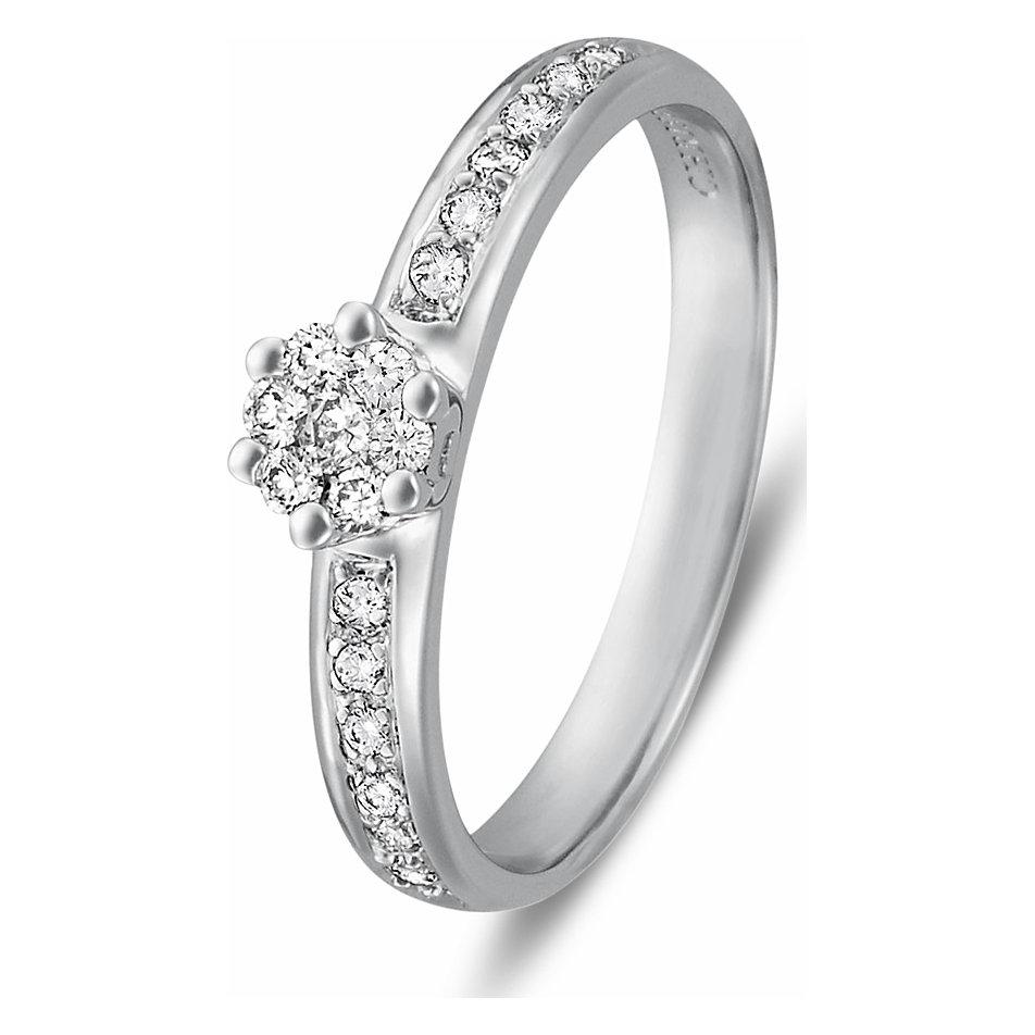 Christ Love Diamonds Damenring Sehr Beliebt Als Verlobungsring