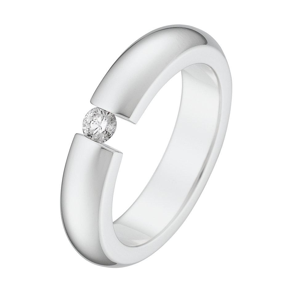 christ silberring mit diamant 60052301 online kaufen. Black Bedroom Furniture Sets. Home Design Ideas