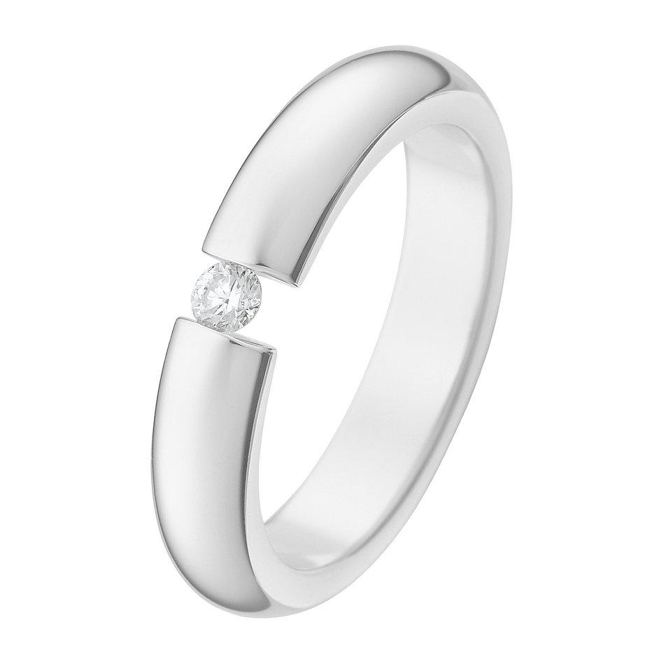 christ silberring mit diamant 60052336 online kaufen. Black Bedroom Furniture Sets. Home Design Ideas