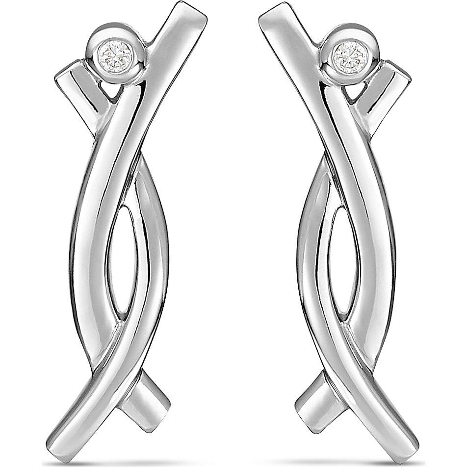 christ-silver-diamonds-ohrstecker-87523641