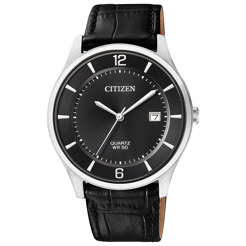 Citizen Herrenuhr Leather BD0041-03F