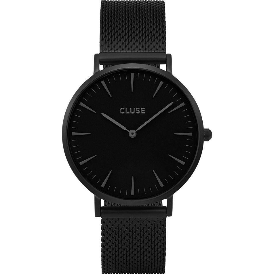 Damenuhren schwarz metall  CLUSE Damenuhr La Bohème CL18111 bei CHRIST.de bestellen