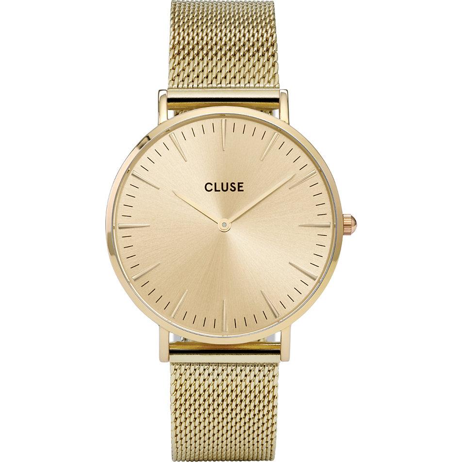 Berühmt Cluse Damenuhr La Bohème Mesh Full Gold CLG003 bei CHRIST.de bestellen &WX_35