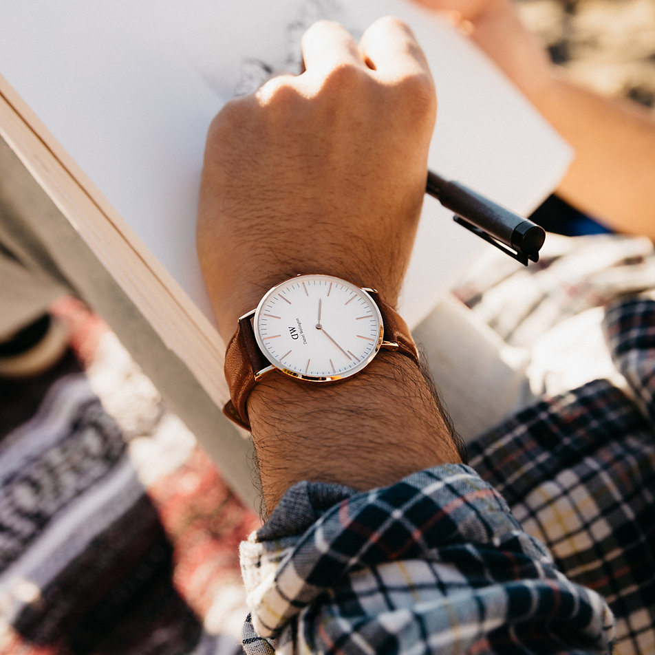 Armbanduhr herren daniel wellington