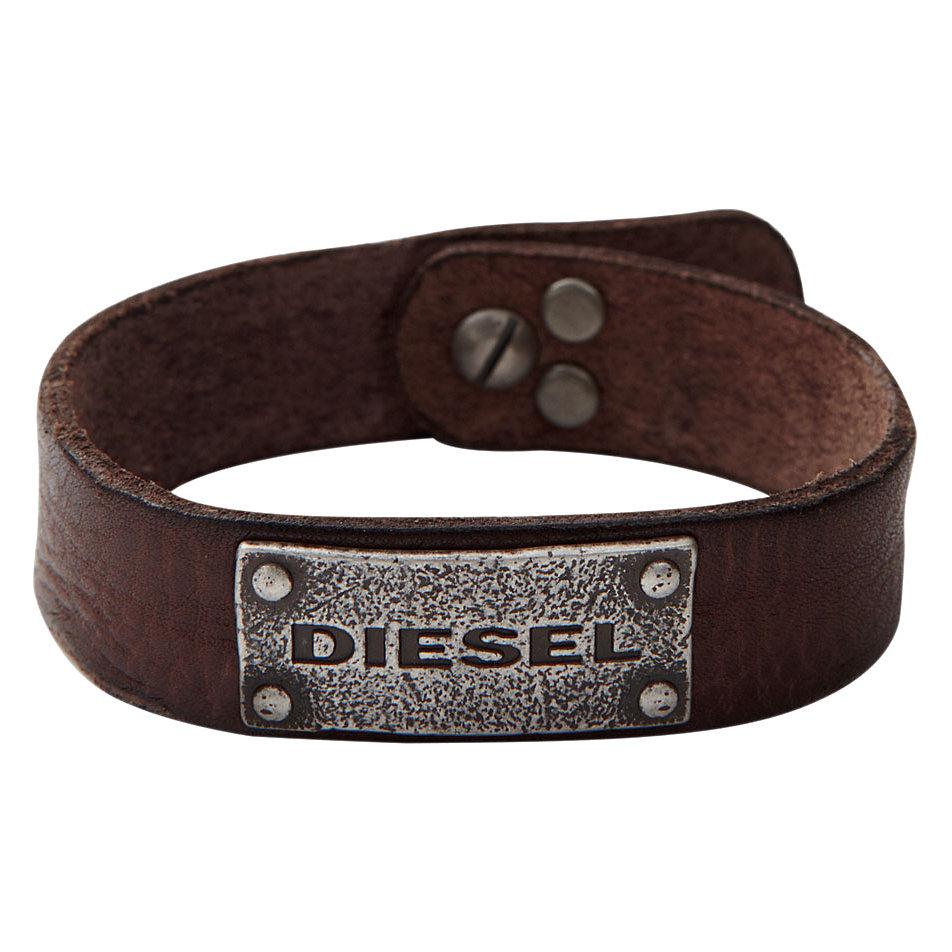 Lederarmband herren diesel  Diesel Armband DX0570040 bei CHRIST online kaufen
