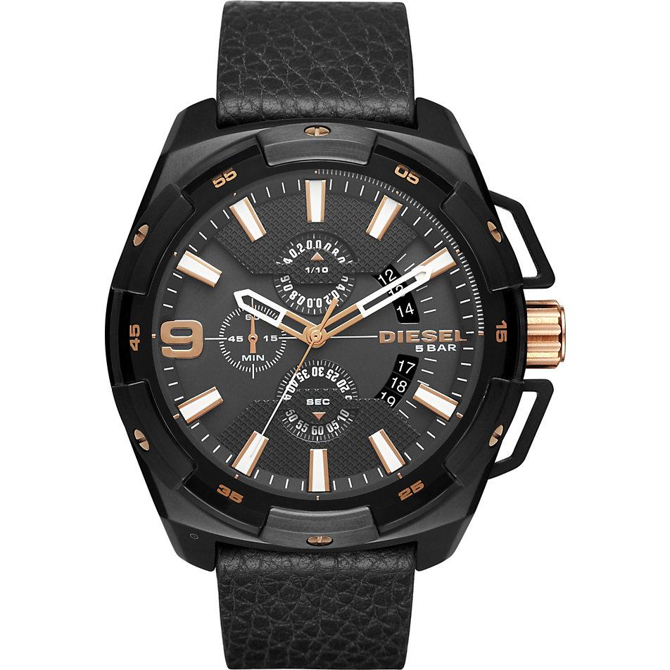 Außergewöhnlich Xxl Uhren Ideen Von Diesel Herrenchronograph Dz4419