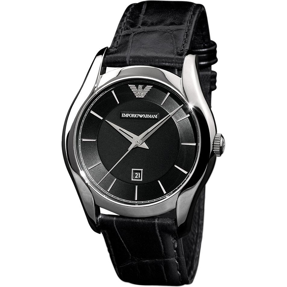 Armani damenuhren schwarz  Emporio Armani Damenuhr AR1645 bei CHRIST.de bestellen