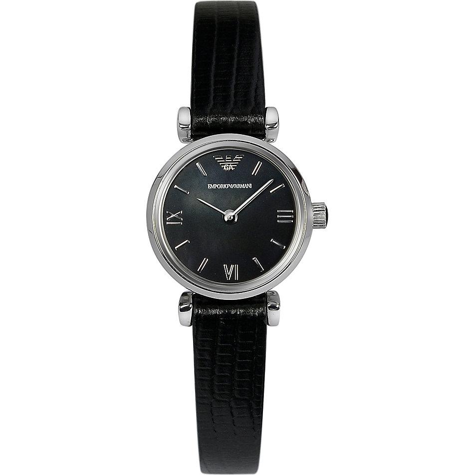 Armani damenuhren schwarz  Emporio Armani Damenuhr AR1684 bei CHRIST.de bestellen