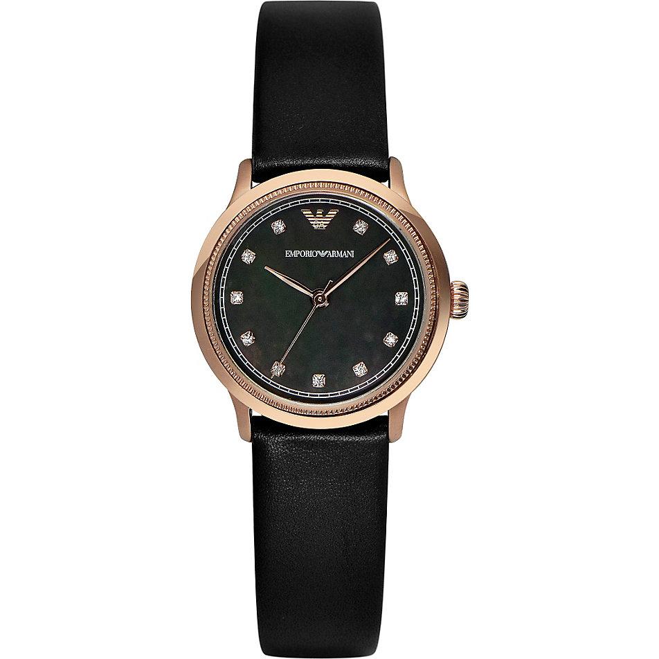 Armani damenuhren schwarz  Armani Damenuhr AR1802 bei CHRIST online kaufen