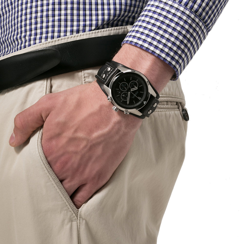 Fossil herren armbanduhr chronograph ch2586