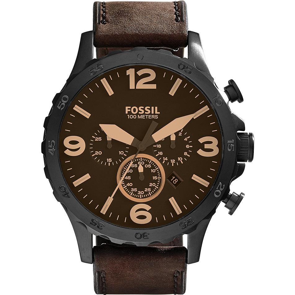 Brilliant Xxl Uhren Foto Von Fossil Herrenchronograph Jr1487