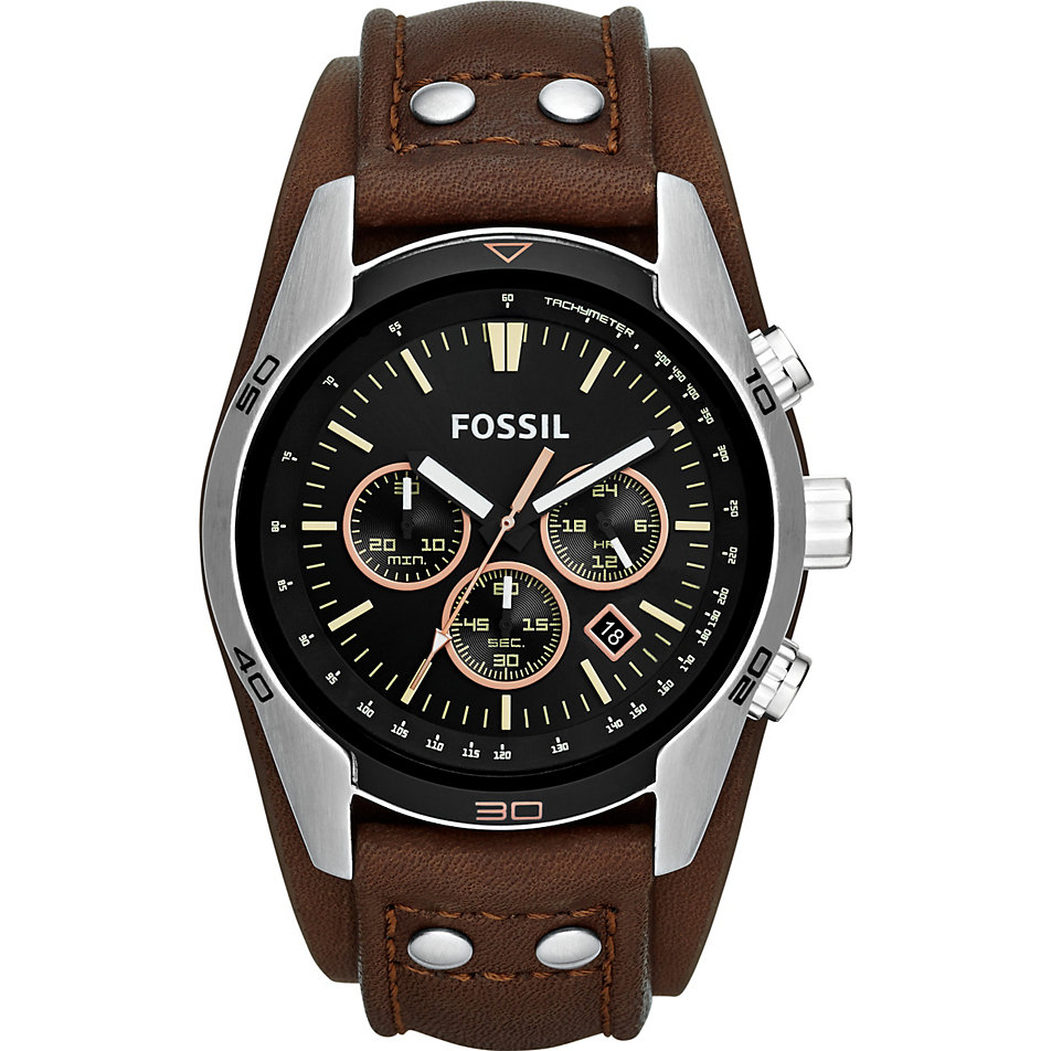 Fossil Herrenchronograph CH2891