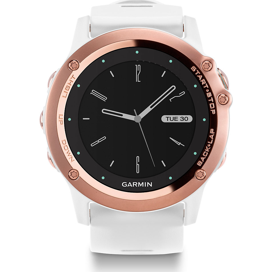garmin smartwatch fenix 3 sapphire white ros gold 40 26. Black Bedroom Furniture Sets. Home Design Ideas