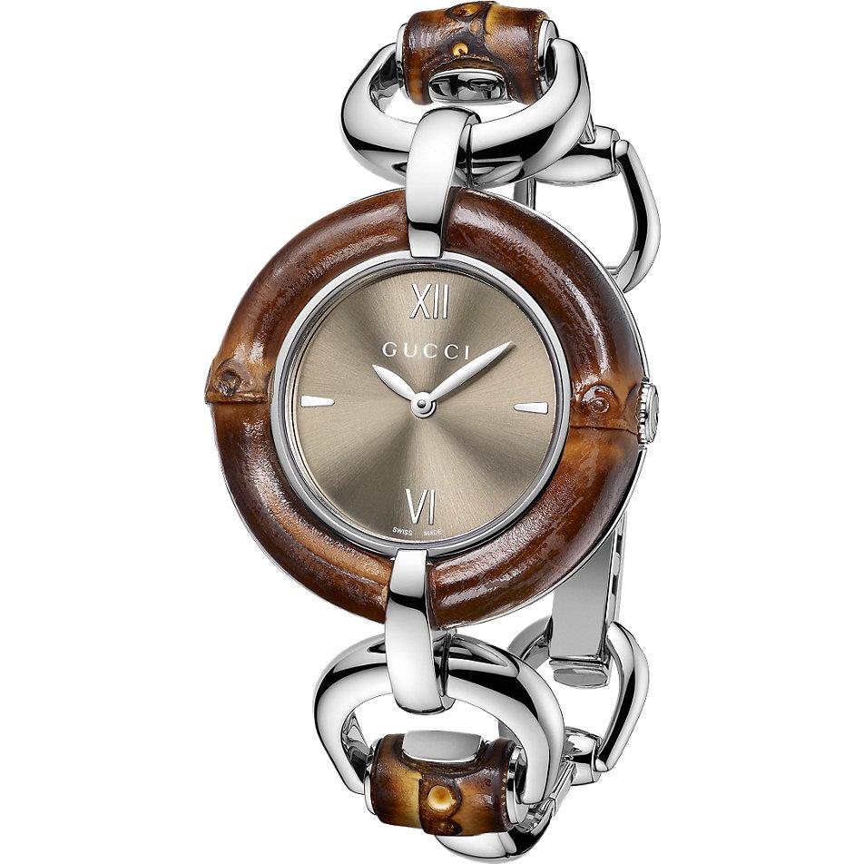 Gucci Uhr Bamboo Ya132402 Bei Christ Online Kaufen