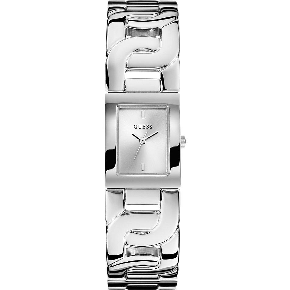Damenuhren silber guess  Guess Damenuhr Chained Silber W0003L1 bei CHRIST.de bestellen