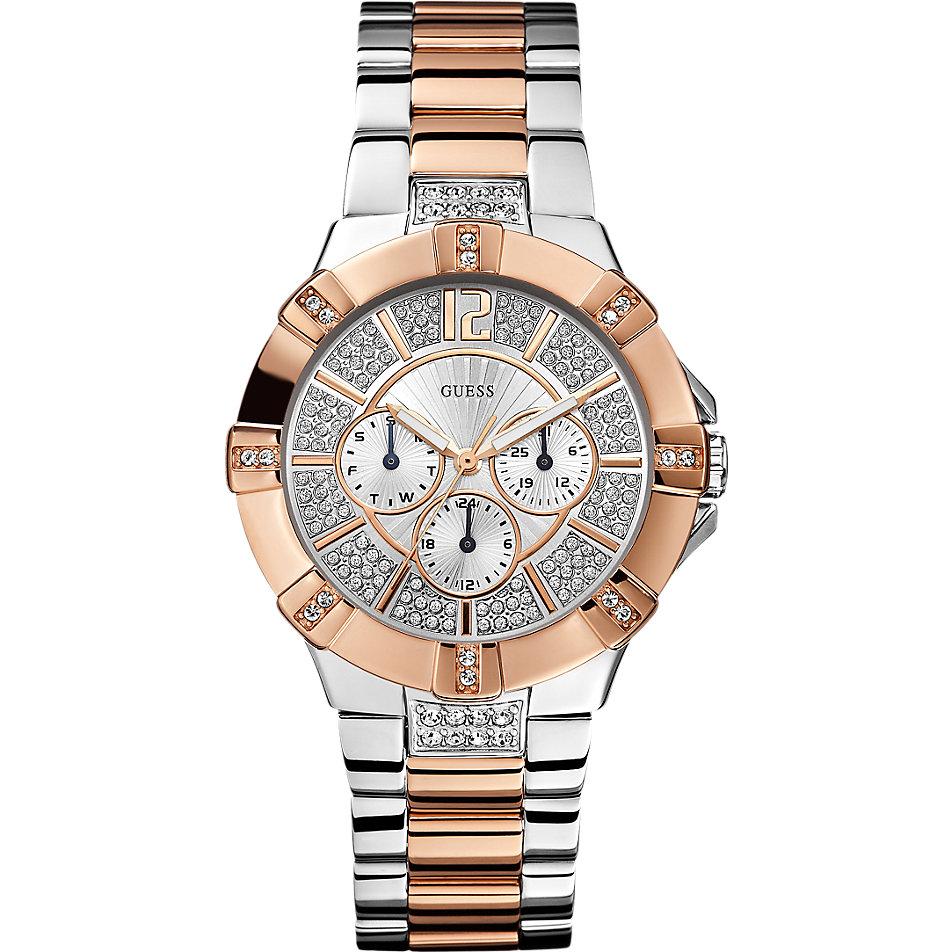 Damenuhren silber guess  Guess Uhr Vista W0024L1 bei CHRIST online kaufen