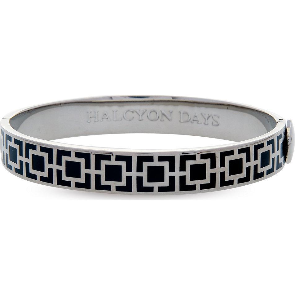 halcyon days armreif mosaic black palladium 201 dh066 bei bestellen. Black Bedroom Furniture Sets. Home Design Ideas