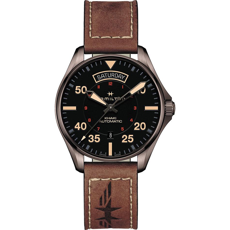 hamilton-herrenuhr-khaki-pilot-auto-day-date-h64605531