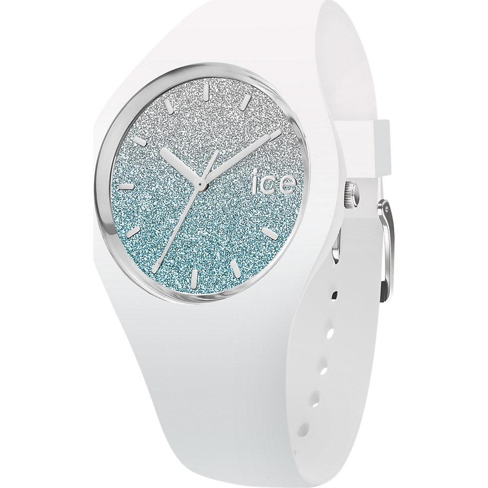 Ice-Watch Damenuhr lo White Blue 013429