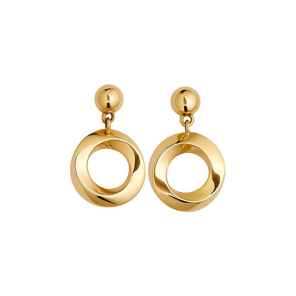 JETTE Gold Ohrstecker Golden Twist 85404377 bei CHRIST.de bestellen 5a53dead4d