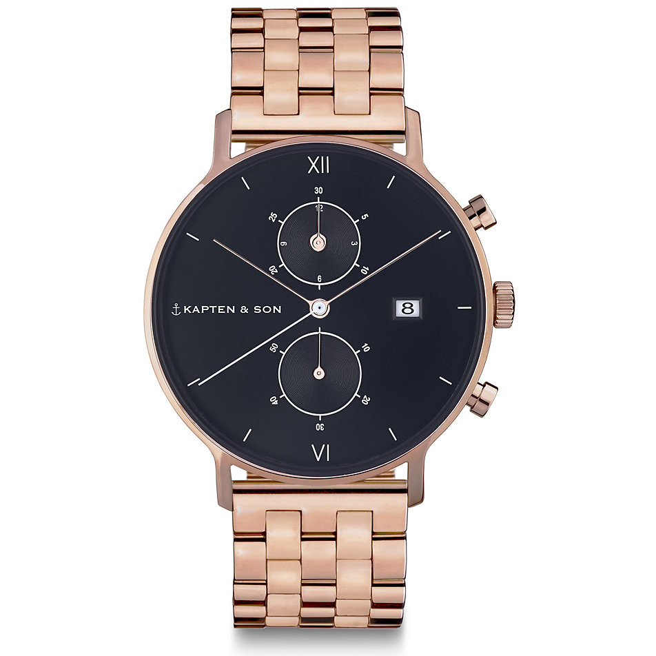 kapten-son-chronographmet-chrono-black-steel-cd00b0825f02a, 269.00 EUR @ christ-de