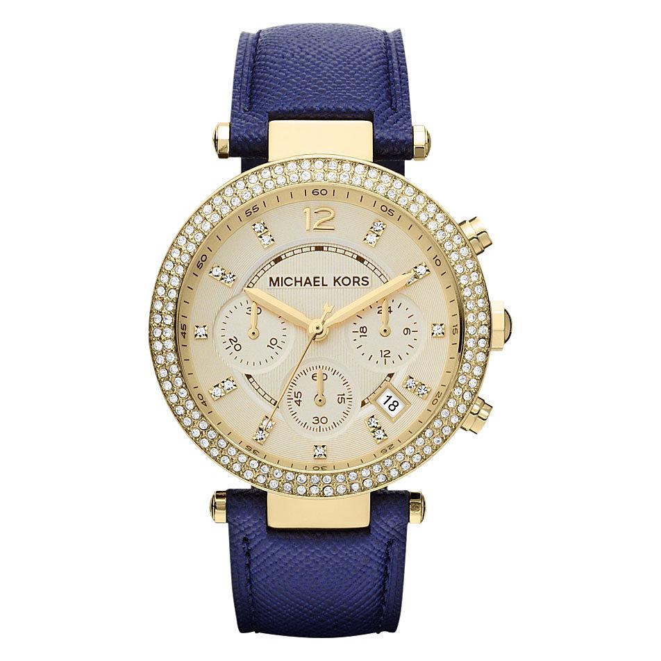 Damenuhren michael kors blau  Michael Kors Chronograph MK2280 bei CHRIST online kaufen