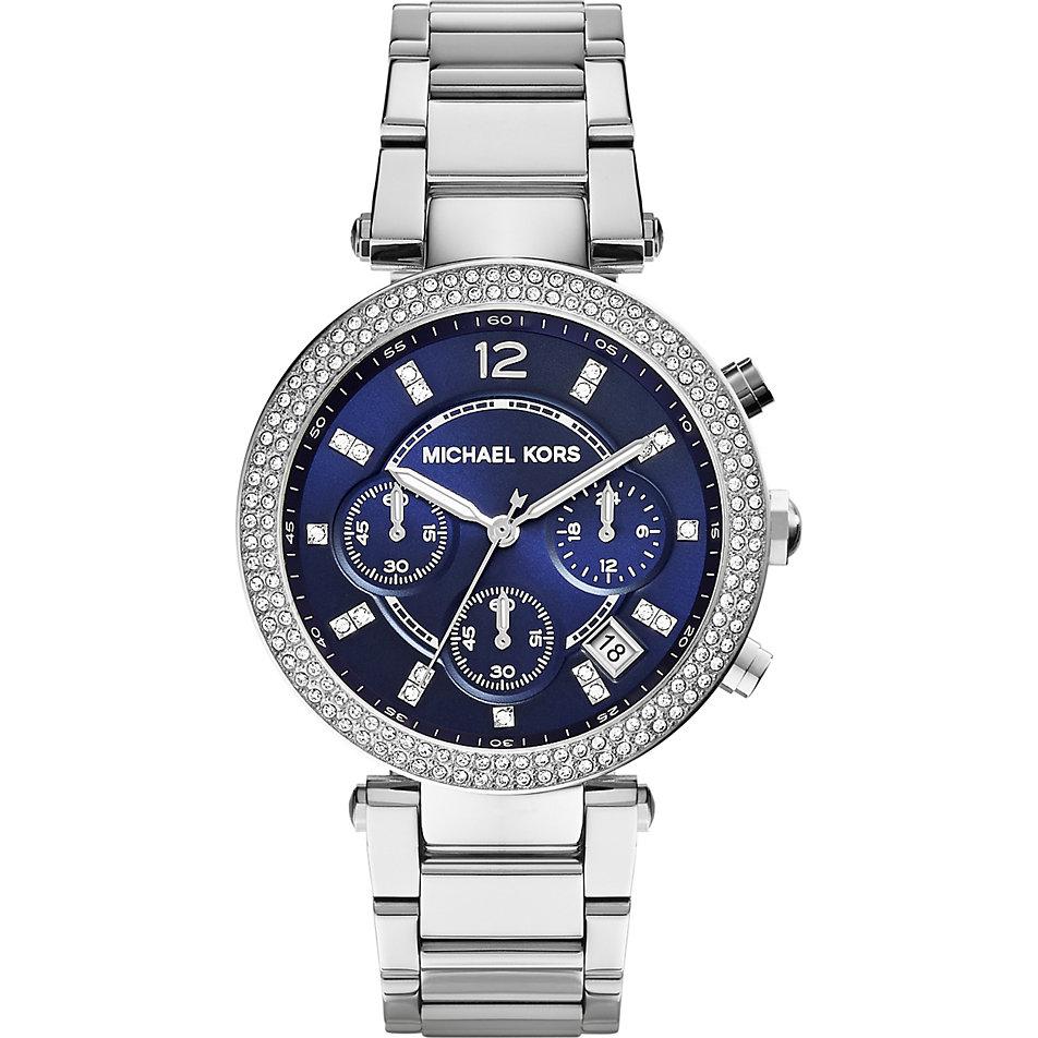 Damenuhren michael kors blau  Michael Kors Chronograph MK6117 bei CHRIST online kaufen