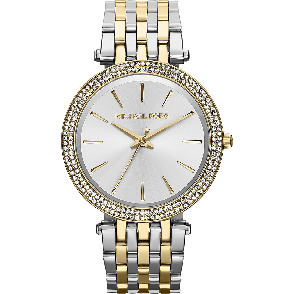 Permalink to Michael Kors Womens Gold Diamond Watch