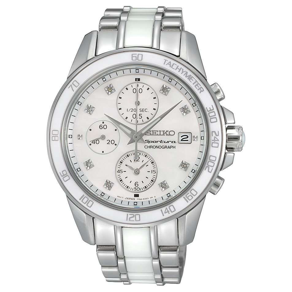 chronograph fossil damen