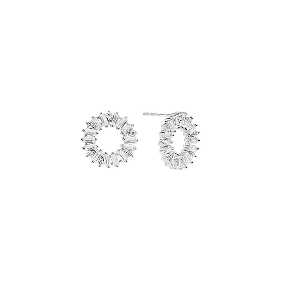Sif Jakobs Jewellery Ohrstecker Antella Circolo SJ-E0324-CZ