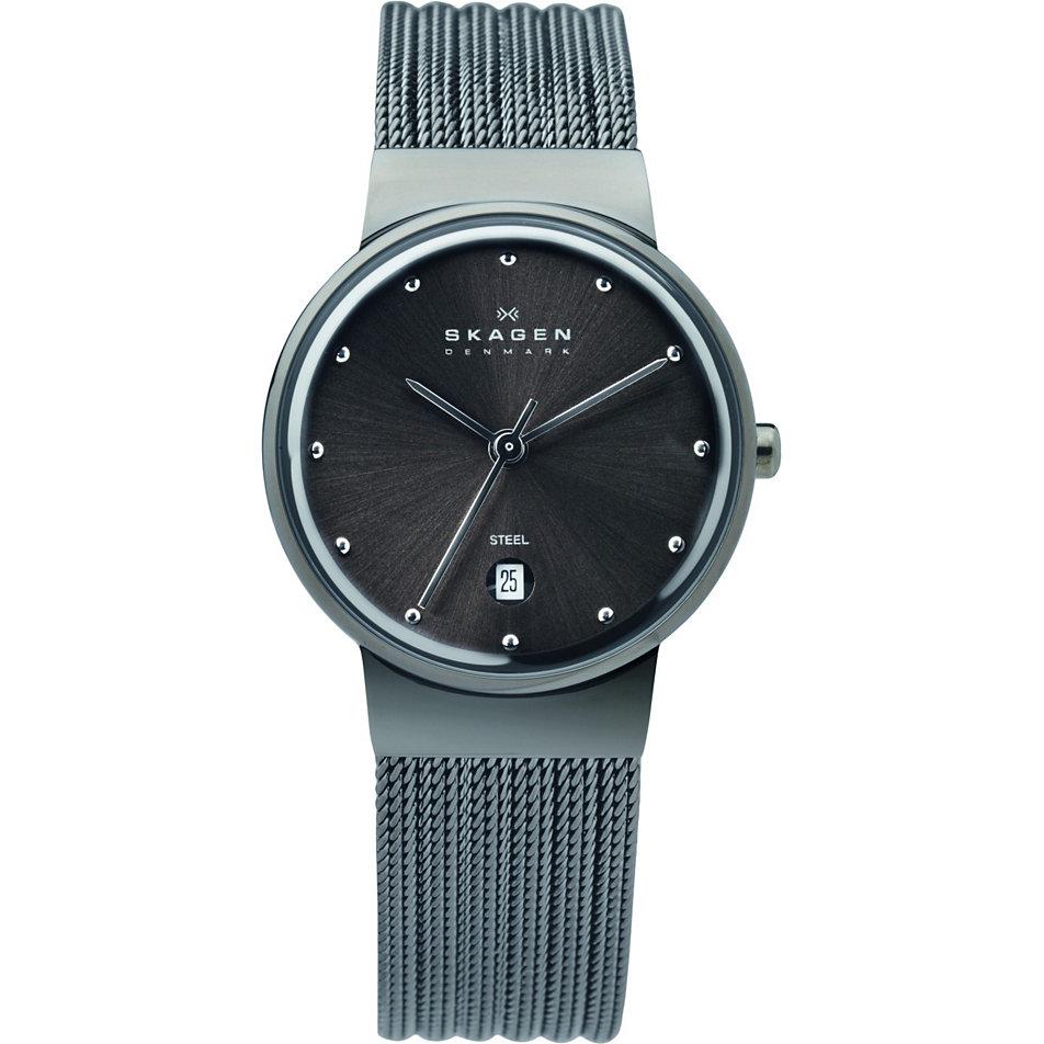 Skagen damen armbanduhr 355smm1