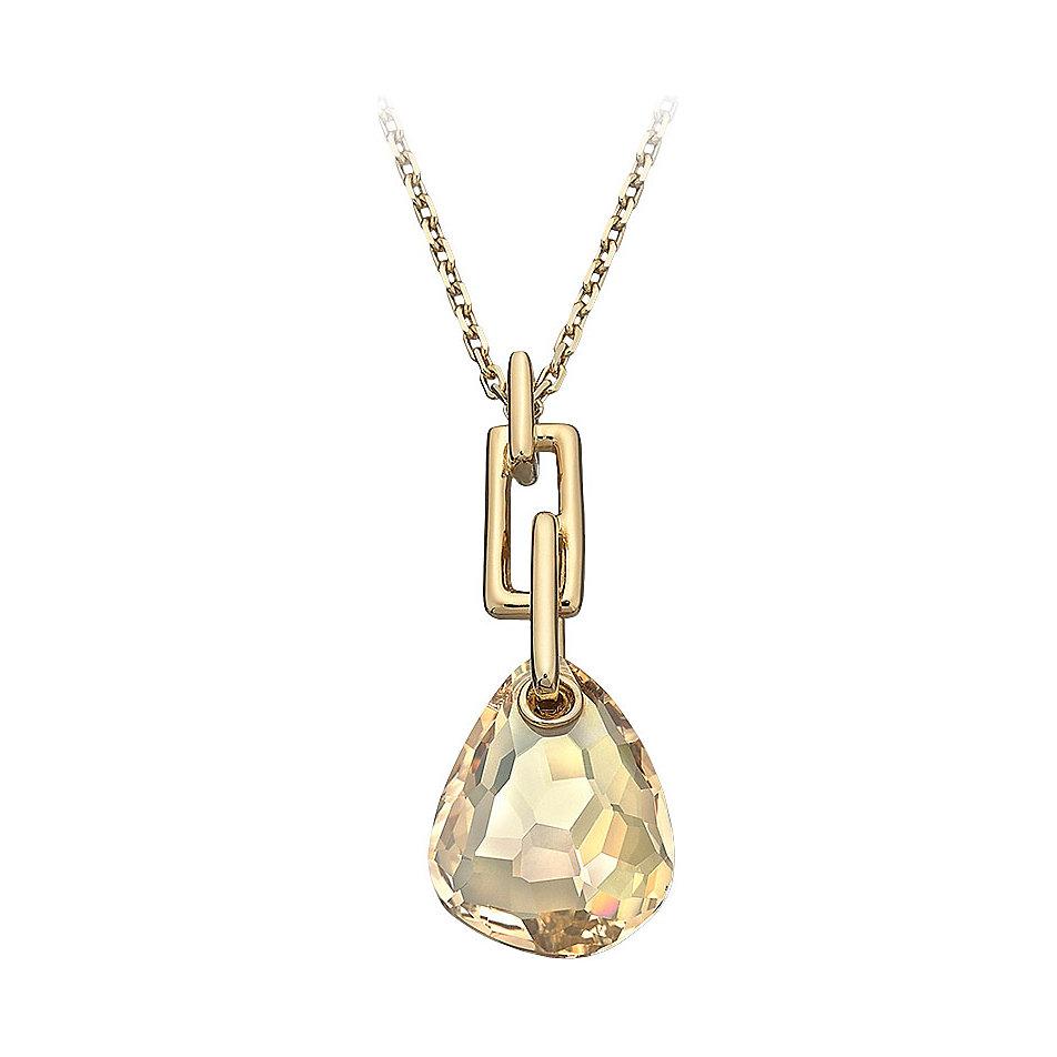 goldkette mit steinanhänger